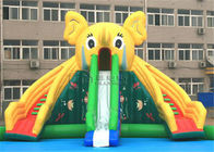Laser Painting Water Slide Games Commercial Bounce House Water Slide