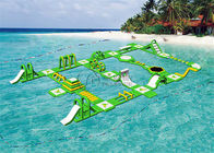 Commercial Grade Floating Water Park Floating Blow Up Island For Kids And Adults