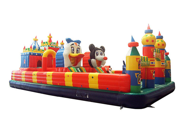 Mickey Mouse Inflatable Fun City Outdoor Inflatable Jumping Naughty Castle