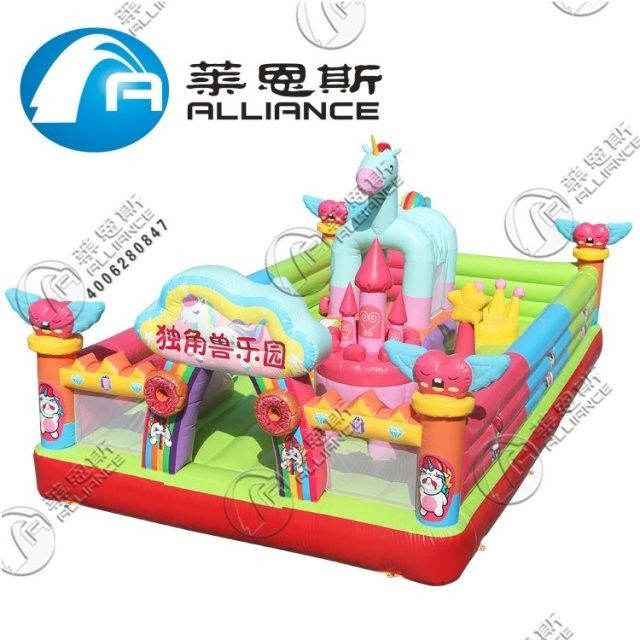Customized Size Inflatable Bounce Castle PVC Tarpaulin Material For Kids